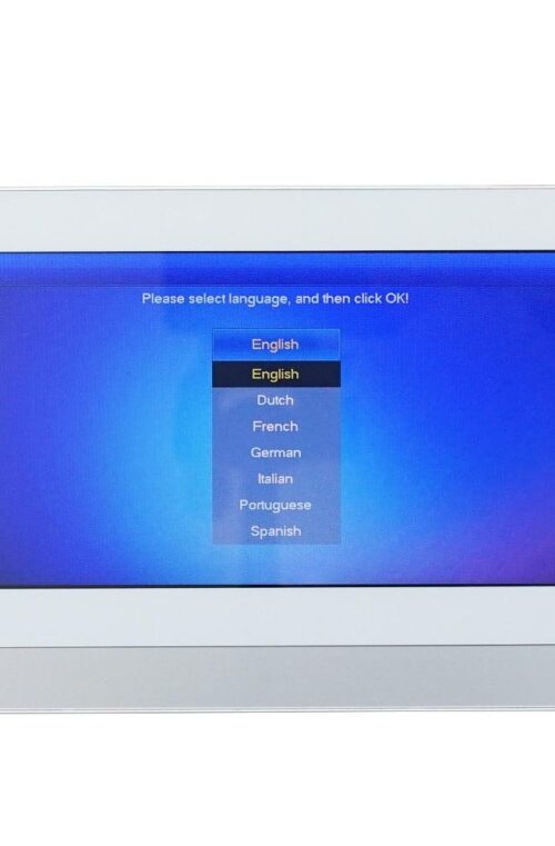 Video Intercom med Touch Monitor
