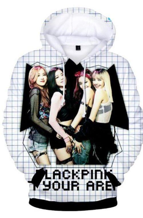Blackpink 3D Hoodie