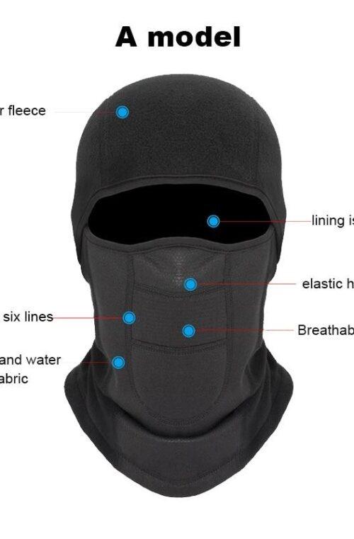 Termisk Skidmask / Snowboardmask