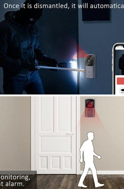 Wi-Fi Video Dörrklocka
