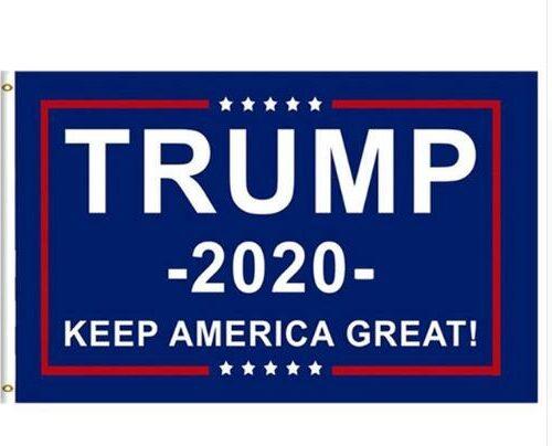 Stor Trump Flagga (90X150cm)