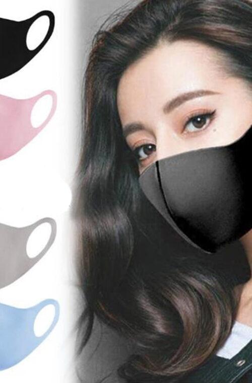 10-300st Återanvändbara Ansiktsmasker