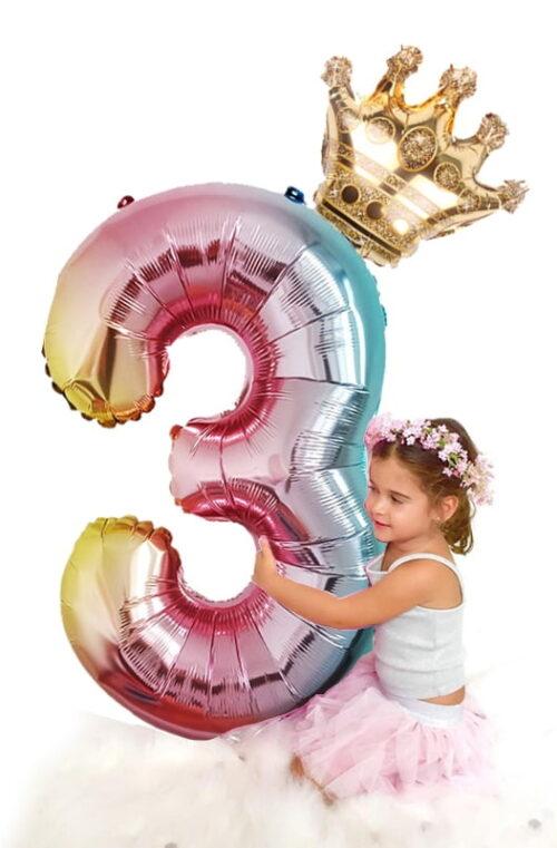 Jätteballonger Siffror