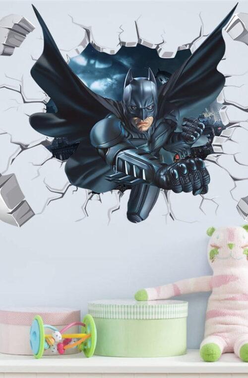 Batman / Spider-Man Väggdekor