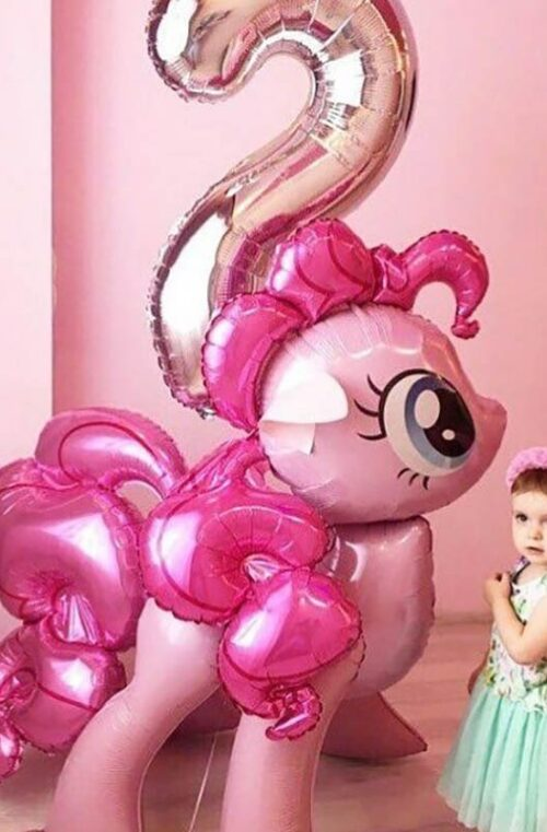 Jätteballonger för Flickors Födelsedagskalas