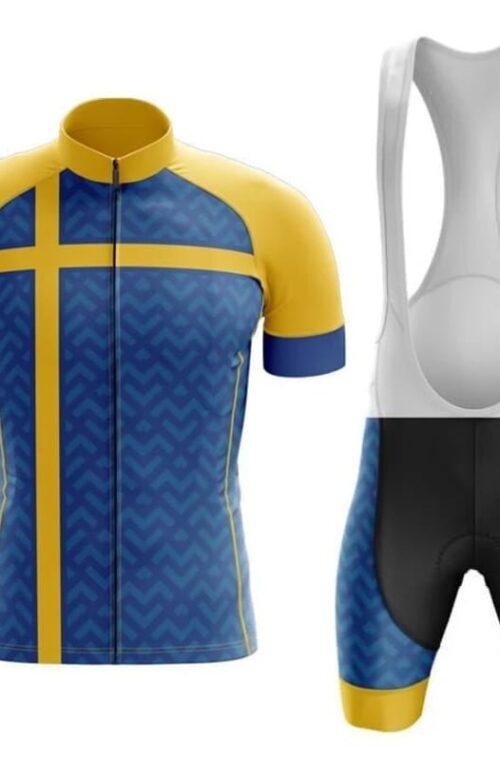 Cykelkläder med Svenska Flaggan