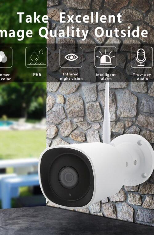 Wi-Fi Övervakningskamera (Utomhus)