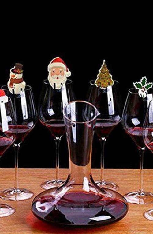 10st Juldekoration - Glas