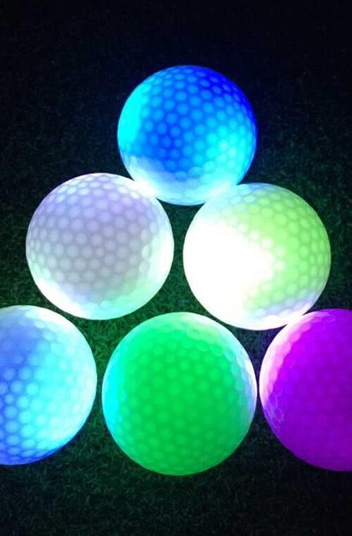 Självlysande Golfboll (LED)
