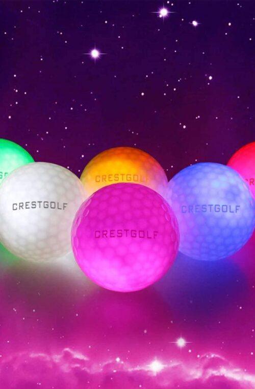 Självlysande Golfbollar - 20st