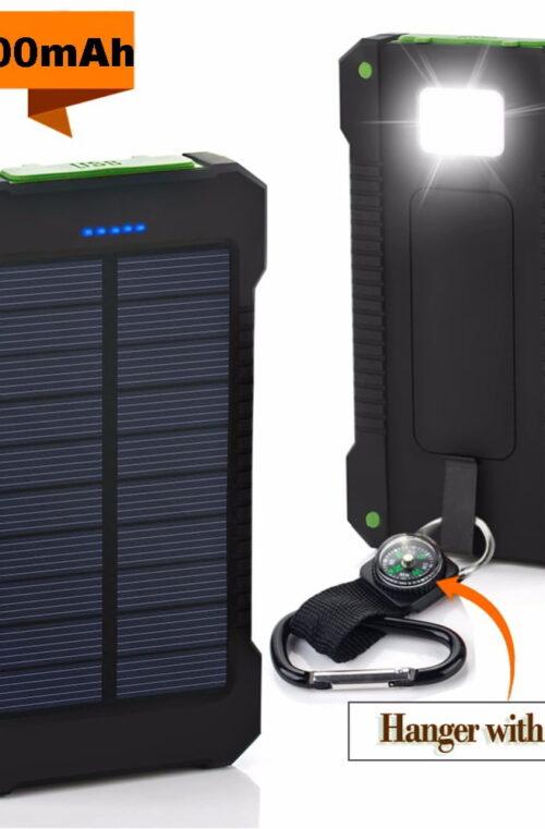 Solar Powerbank Dual USB 30000mAh