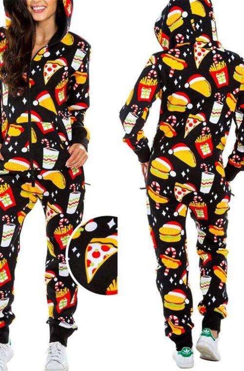 HO HO HO One Piece Pyjamas