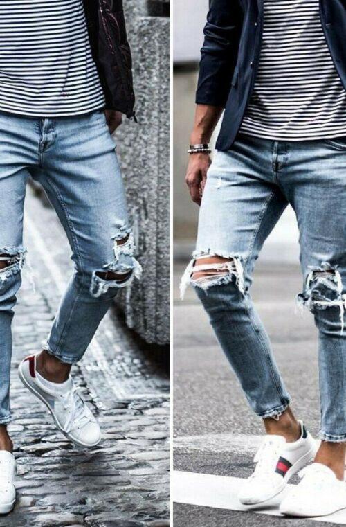 Trasiga Jeans Herr