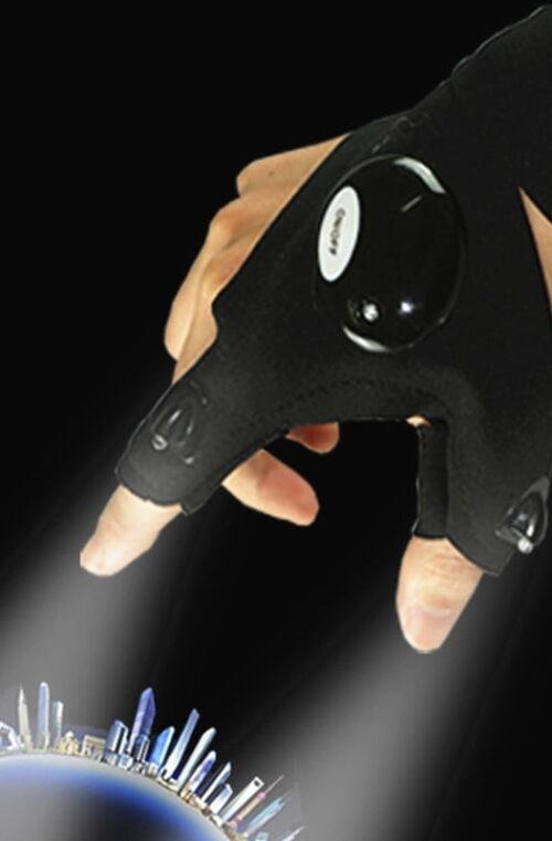 Handskar med LED