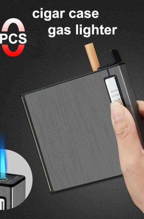 Tändare med Cigarettetui