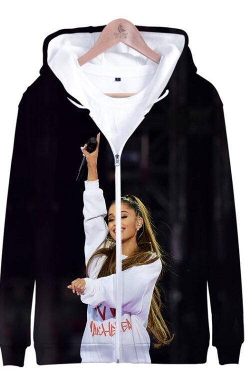 Ariana Grande 3D Hoodie (L-XXXL)
