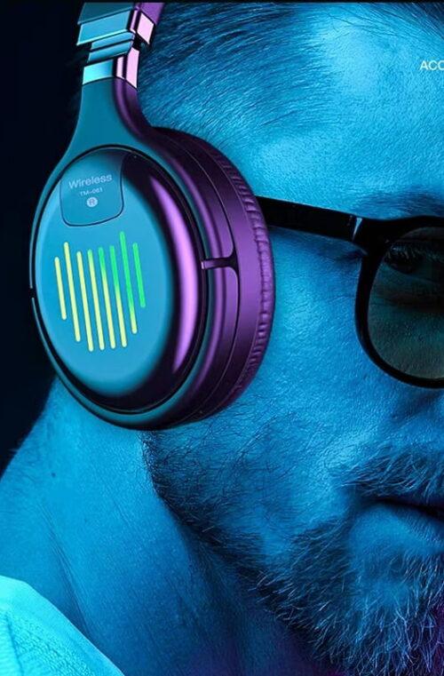 Bluetooth Trådlösa Gaming Hörlurar