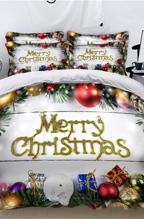 Sängkläder med Jultema
