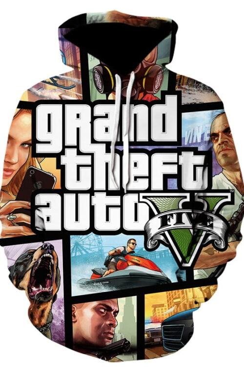 Grand Theft Auto Hoodies