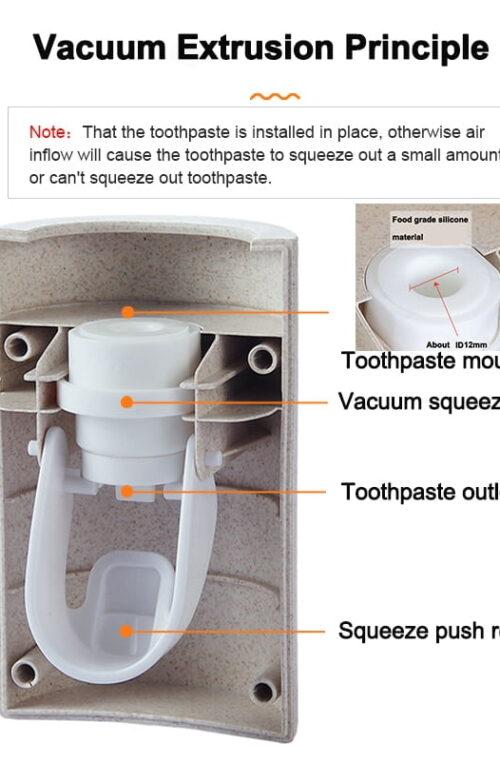 Automatisk Tandkrämsdispenser
