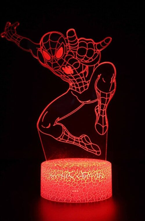 Spindelmannen LED-Lampa