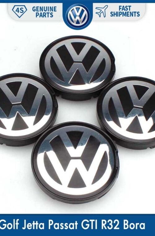 Volkswagen Fälgemblem (4st)