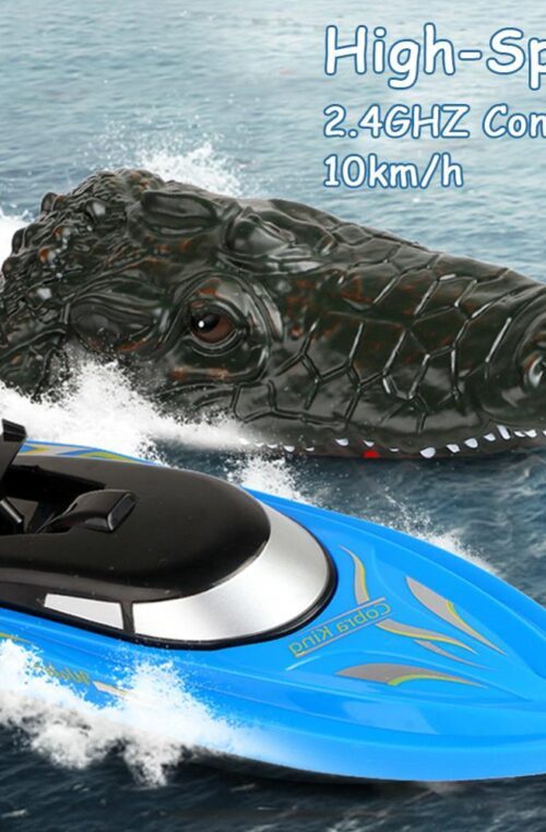 RC Båt - Krokodil