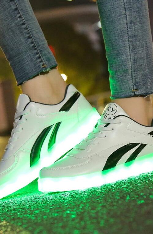 LED Sneakers Storlek 36-40