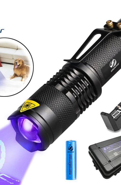 SHUSTAR S-002-UV Ficklampa