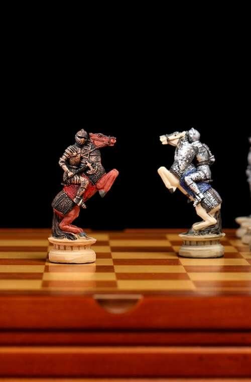 Schackspel Deluxe (Medeltiden)