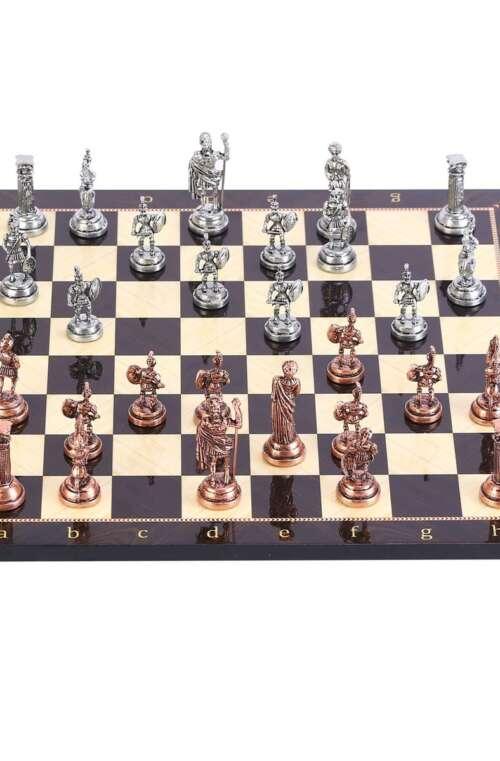 Handgjort Schackspel Deluxe (Koppar)