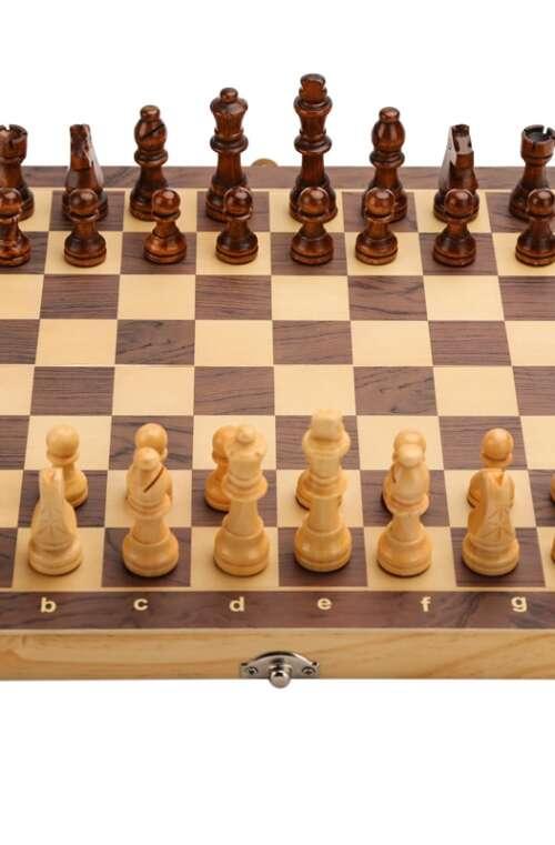 Schackspel (Trä)
