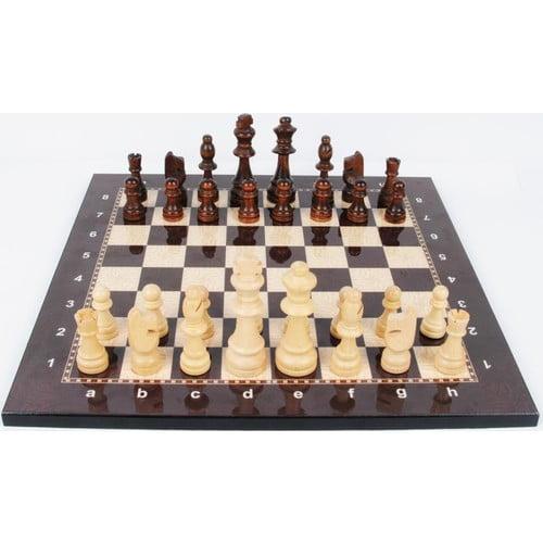Schackspel Deluxe (Valnöt)