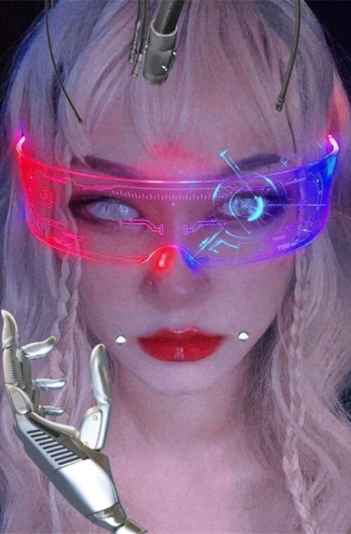 LED Solglasögon