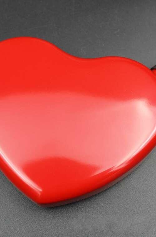 Fickplunta (Hjärtformad)
