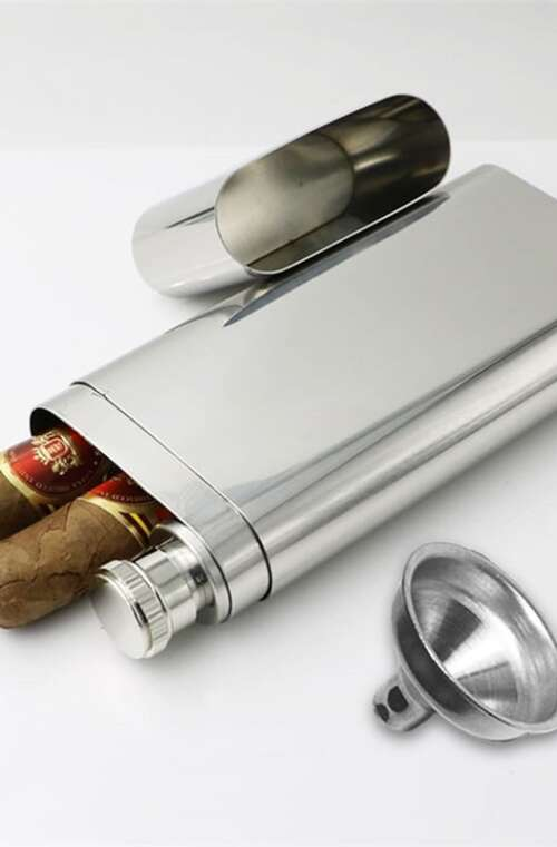 Fickplunta med Cigarretui