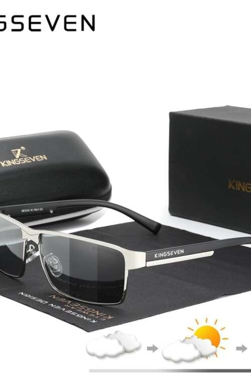 KINGSEVEN Fotokromatiska Solglasögon