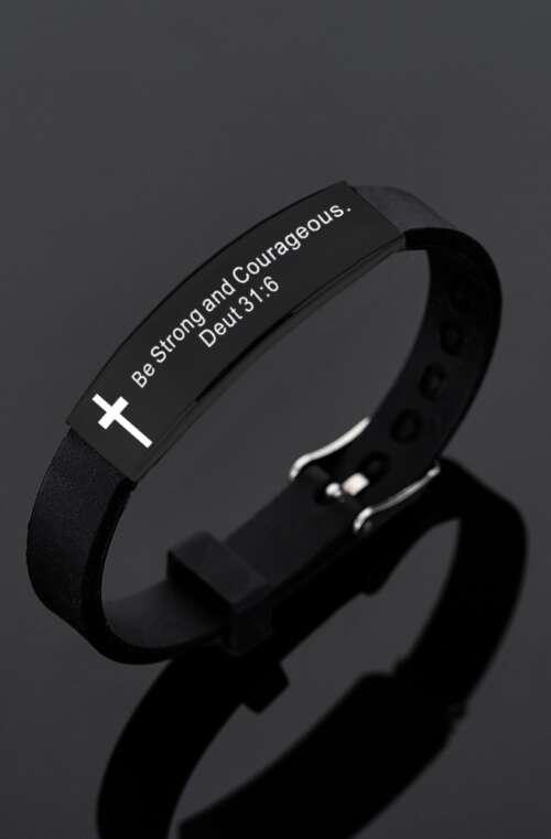 Armband med Bibelcitat
