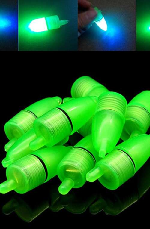 Flöte med LED-Diod (10st)