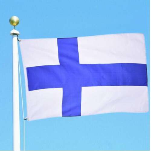 Finlands Flagga (90cm x 150cm)