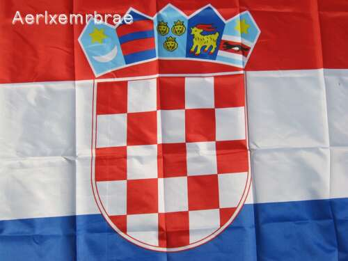 Kroatiens Flagga (90cm x 150cm)