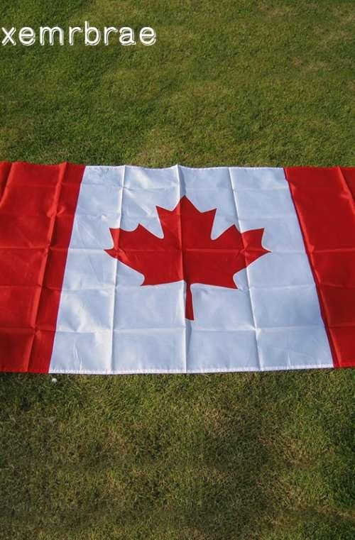 Kanadas Flagga (90cm x 150cm)
