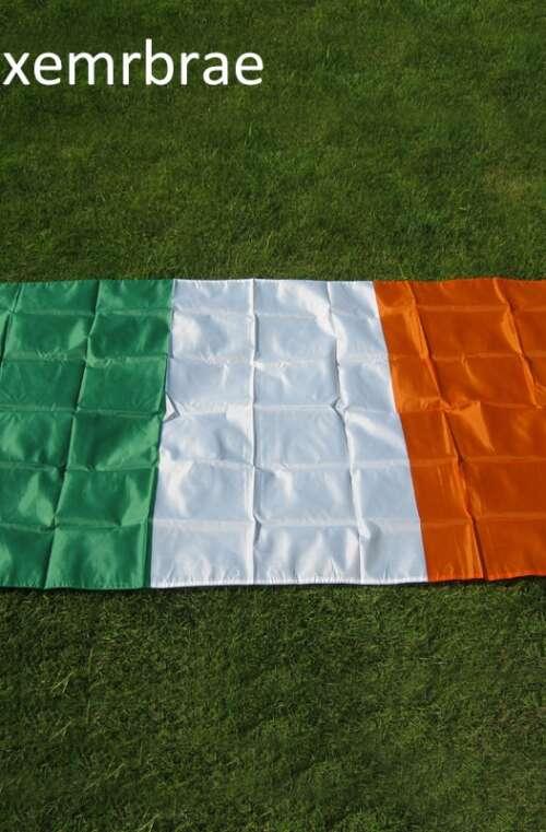Irlands Flagga (90cm x 150cm)