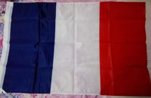 Frankrikes Flagga (90cm x 150cm)