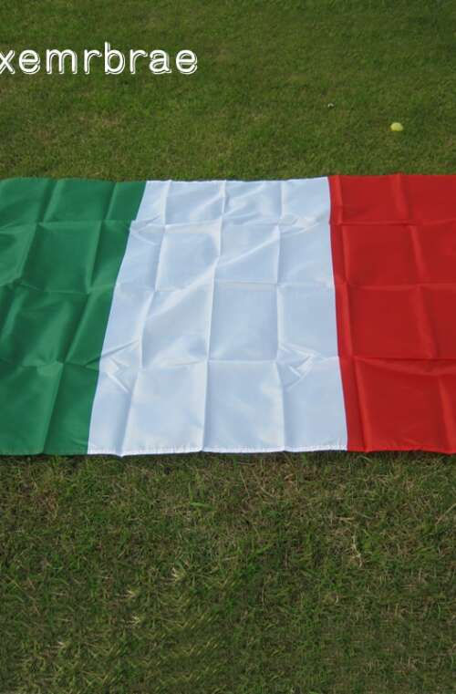 Italiens Flagga (90cm x 150cm)