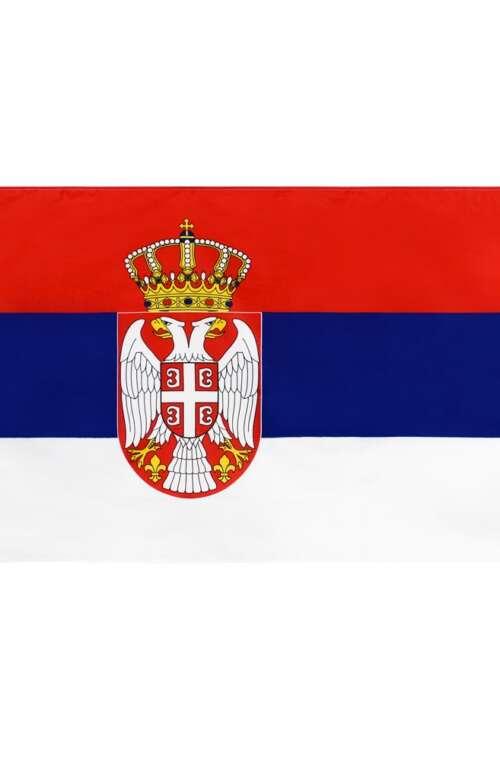 Serbiens Flagga (90cm x 150cm)