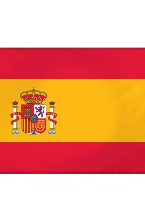Spaniens Flagga (90cm x 150cm)