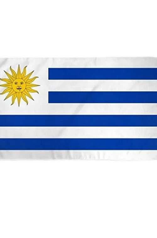 Uruguays Flagga (90cm x 150cm)