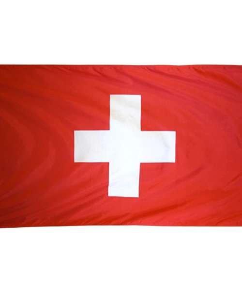 Schweiz Flagga (90cm x 150cm)