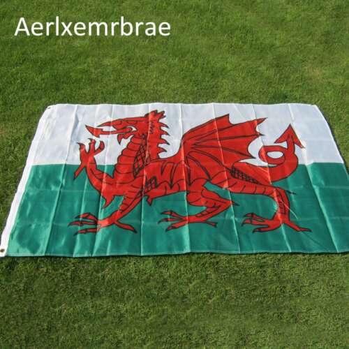 Wales Flagga (90cm x 150cm)